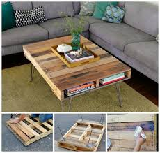 Coffee Table From Pallet 15 Diy Wood Pallet Crafts Pallet Coffee Tables Pallets