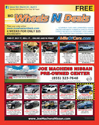 nissan altima for sale joplin mo wheels n deals issue 38j by maximum media inc issuu