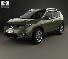 2015 nissan x trail for nissan x trail 2015 3d model hum3d