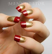 at home nail art easy christmas tree nail art 2 hlpmgu toothpick