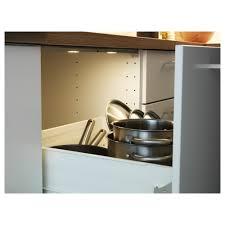 omlopp led lighting strip for drawers aluminium colour 76 cm ikea