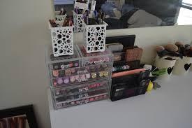 Makeup Organizer Desk by That U0027s So Kelsie My Makeup Collection U0026 Storage