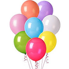 birthday balloons mesha 12 inches assorted color party balloons 144 pcs