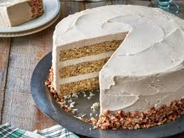 brown cake butter pecan layer cake with browned butter frosting recipe