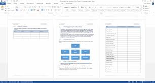 disposition plan template ms word instant download
