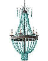 turquoise beaded chandelier turquoise chandelier lighting pre black friday deals