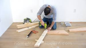 Hand Saw For Laminate Flooring How To Build A Modern Couch With Table Diy Project Cut The Wood