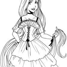 coloring pages disney princess rapunzel archives mente beta