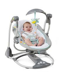 portable baby swing with lights bright starts ingenuity avondale 2 in 1 swing swings mothercare
