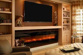 Decor Home Depot Electric Fireplaces by Great Wall Mounted Fireplaces Modern Flames Concerning Flush Mount