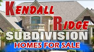 new homes for sale in kendall ridge subdivision plainfield il