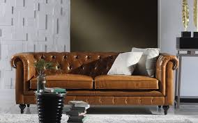 Leather Chesterfields Sofas Essex Leather Chesterfield Sofa Sofamania
