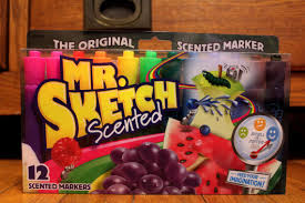 new mr sketch 12 count scented markers original smelly drawing