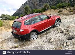 bmw rally off road car bmw x3 cross country vehicle model year 2003 red fghds
