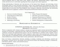 personal trainer resume objective trainer resume exle unforgettable personal trainer resume