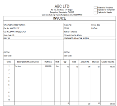 gst invoice template in excel excelhub org