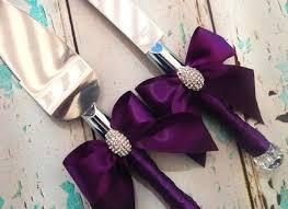 personalized wedding serving set knifes personalized wedding cake knife and server set