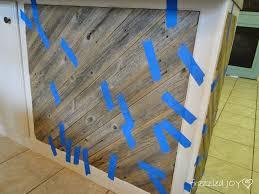 remodelaholic diagonal planked reclaimed wood kitchen island