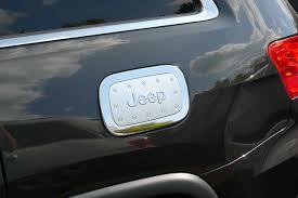 gas cap light jeep jeep grand cherokee chrome fuel door gas cap cover petro trim jeep