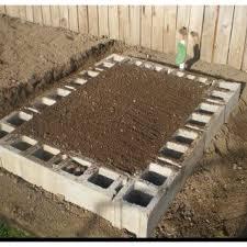 44 best garden concrete bed images on pinterest cinder blocks