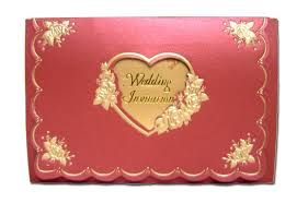 shadi cards w020i01 burgundy golden floral hearts wedding cards 0 65