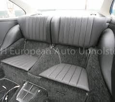 porsche 911 back seat porsche 911 rear seat cover pair k h european auto upholstery