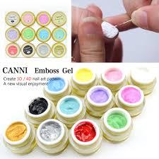 trouver plus nail gel informations sur 40269 canni nail art 3d