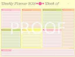 The Wedding Planner And Organizer Cute Weekly Planner And Organizer By Kyrastarr On Deviantart