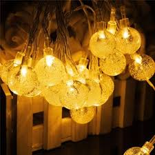 Outdoor Solar Fairy Lights by Solar 30 Led Outdoor Waterproof Party String Fairy Light Festival