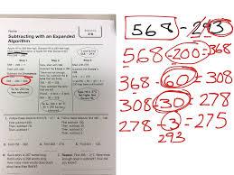showme 3rd grade expanded algorithm subtract