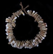 tooth necklace images 19th c fijian human tooth necklace cannibalism jpg