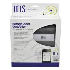 tilt up garage doors shop iris garage door internet gateway at lowes com
