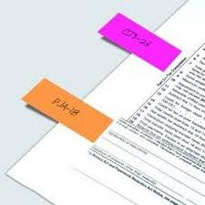 comment mettre des post it sur le bureau windows 7 post it lot de 8 x 35 marque pages étroits 48 marque pages flèches