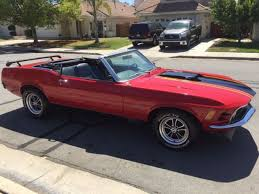 mach 1 mustang convertible 1970 ford mustang mach 1 convertible h code 351 for sale photos