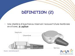 chambre d injection les chambres a catheter implantables cci ppt