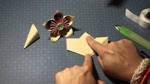 Paper Flowers Video - paper flower tutorial origami kusudama flower youtube