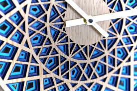 denvers designs contemporary craft designer clocks wood