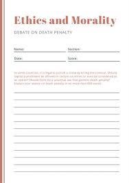 orange simple debate writing prompt worksheet templates by canva