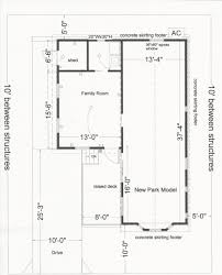 Park Model Floor Plans by Park Model Additions