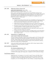 Manager Resume Sample by It Sales Resume Example