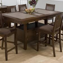 jofran maryland counter height storage dining table jofran caleb brown counter height table w butterfly leaf and