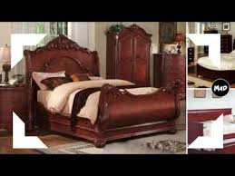 cherry wood bedroom furniture youtube