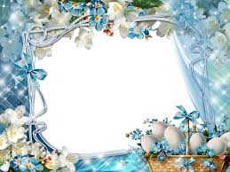 download fullsize easter photoshop frame template free photo
