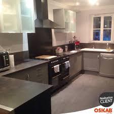 plan pour cuisine cuisine rustique grise implantation en u plan de travail décor