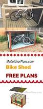 How To Build A Wooden Shed Ramp by Best 25 Storage Building Plans Ideas On Pinterest Diy Shed Diy
