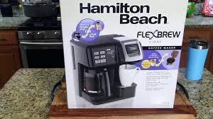 hamilton beach flexbrew coffee maker – newtowncricketub