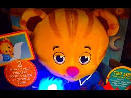 daniel tiger plush toys goodnight daniel u0026 tige y light up u0026 singing doll bedtime daniel