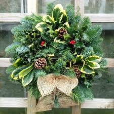 made quality real wreaths 8 different designs