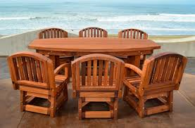 Outdoor Wood Furniture Redwood Tables U0026 Patio Furniture Forever Redwood