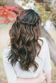 Einfache Frisuren Lange Haare Locken by Die Besten 25 Hochzeitsfrisur Lange Haare Locken Ideen Auf